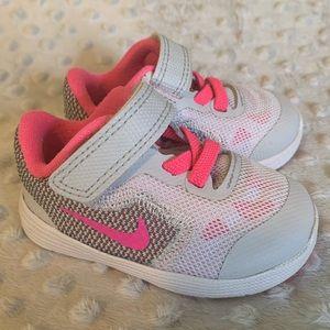 Nike Revolution 3 baby sneakers velcro
